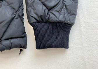モンクレール袖のリブニット交換